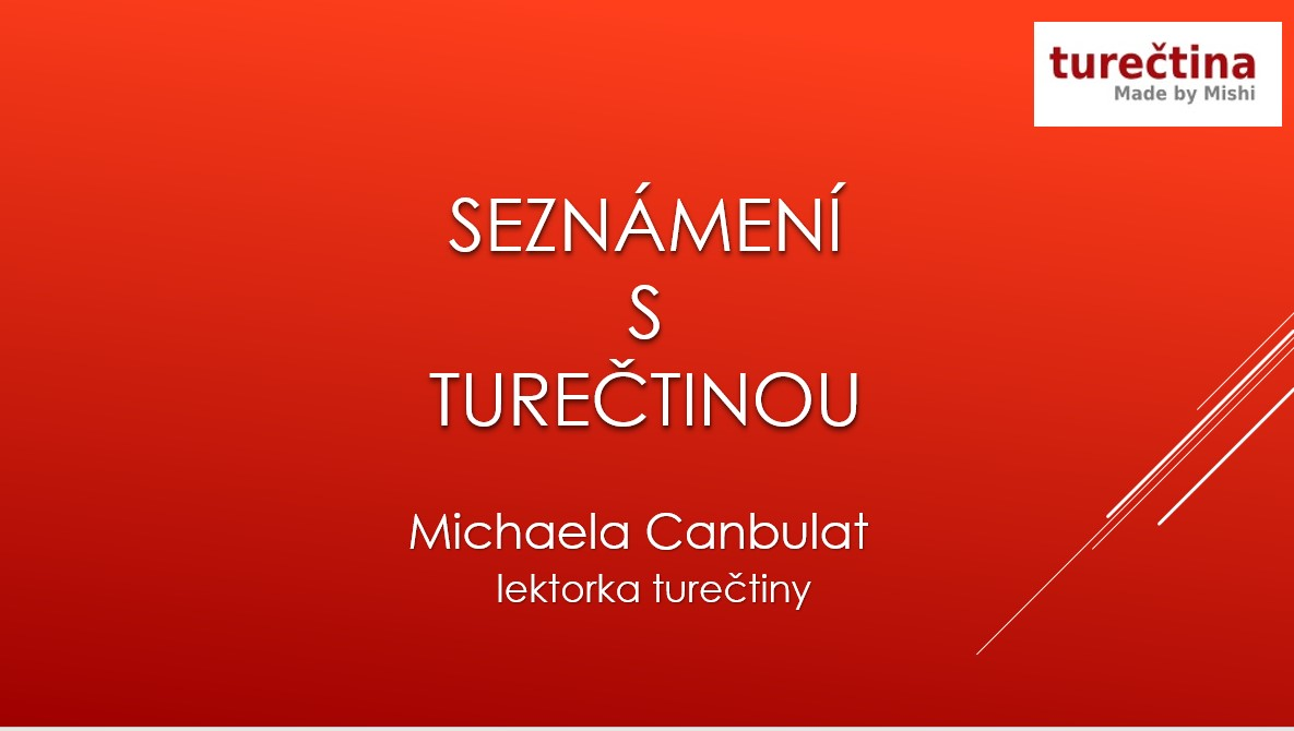 Seznámení s turečtinou